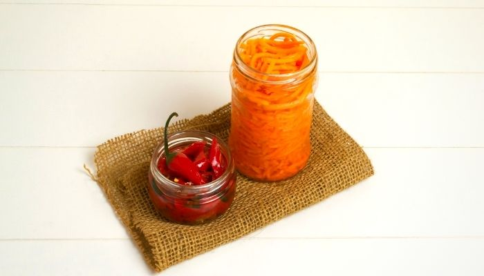 Fermented Carrots for preventing dog worms